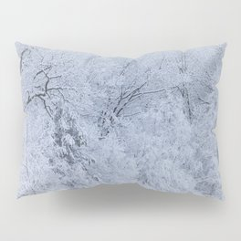 First Snow Fall Fresh Snow on Trees Nature Photography ~ Winter Hush Pillow Sham