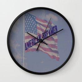 American Dreamer Wall Clock