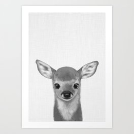 Little fawn Art Print