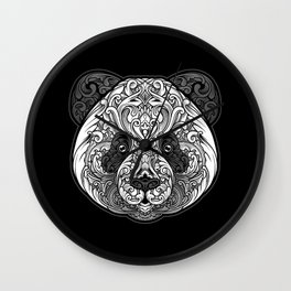 Zen Panda Wall Clock