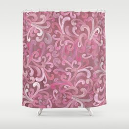 Pink on Pink - Paisley Shower Curtain