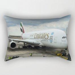 Emirates A380 Airbus Rectangular Pillow