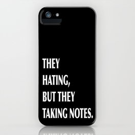 HATERS iPhone Case