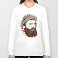 hipster Long Sleeve T-shirts featuring Hipster by jnk2007