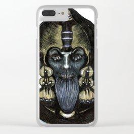 From Nora Hamilton's Ghoul Closet - Beware the Djinn Clear iPhone Case