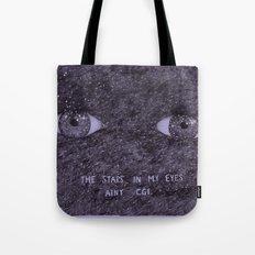 Stars in my eyes. Tote Bag