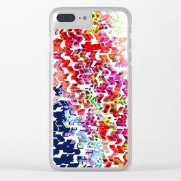 Shape Slide Left Clear iPhone Case