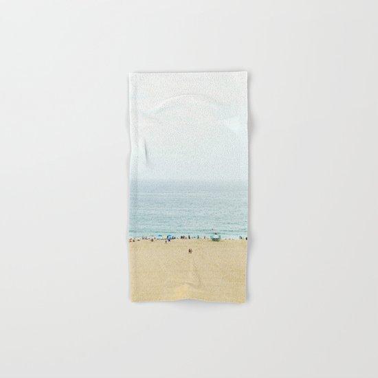 Santa Monica Beach Hand & Bath Towel