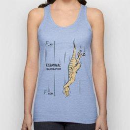 Terminal Velociraptor Unisex Tank Top