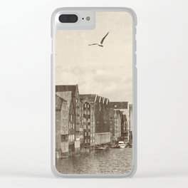 A postcard from Trondheim Clear iPhone Case