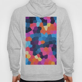 Geometric Brights Hoody