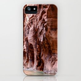 The Narrows Zion National Park Utah iPhone Case