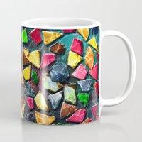 mosaic Mugs featuring Mosaic by Klara Acel