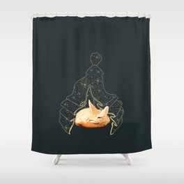 Fennec with Little Prince Shower Curtain