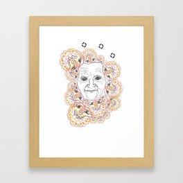 Babushka Framed Art Print