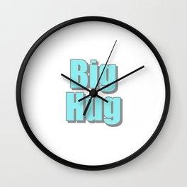 Big Hug Wall Clock