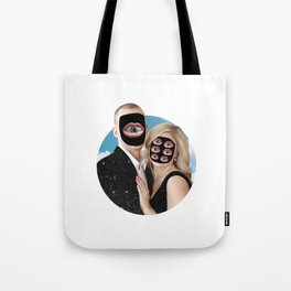Mr. Mars & Mrs. Venus Tote Bag