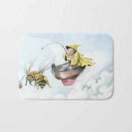 Bee Boating Bath Mat