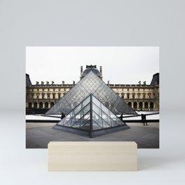 Louvre Mini Art Print