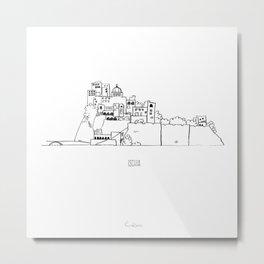 Ischia Metal Print