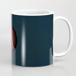 Planet Mars Low Poly Coffee Mug