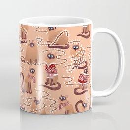 Christmas Cats Coffee Mug