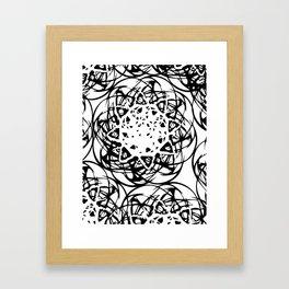 HOLLER OUT Framed Art Print