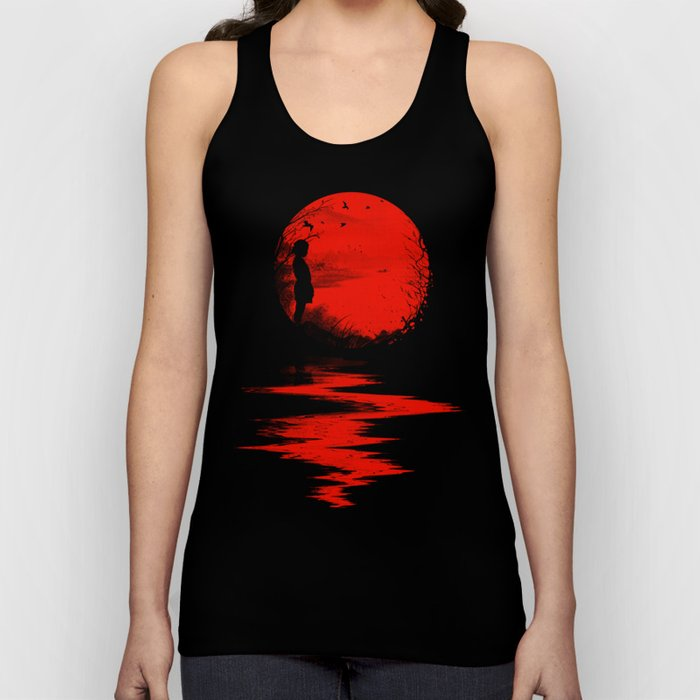 The Land of the Rising Sun Unisex Tank Top