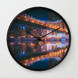 An Evening Like This - New York City Wall Clock