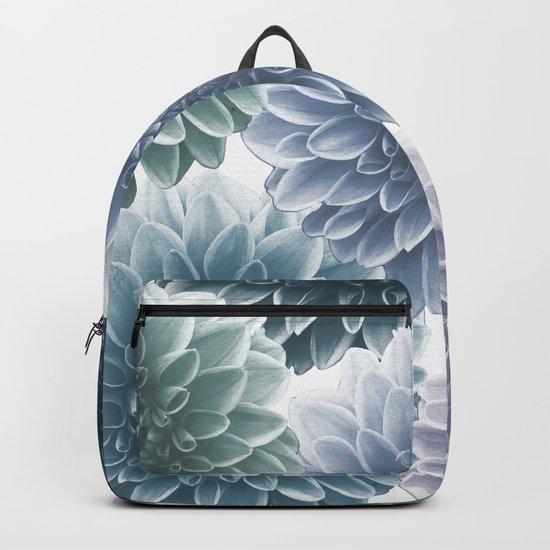 BLUE DAHLIAS Backpack