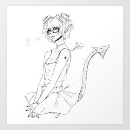 Dragon Song Art Print