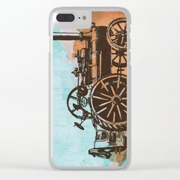 Old Machine Clear iPhone Case