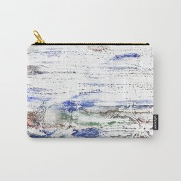 Multicolored clouded wash drawing painting Carry-All Pouch