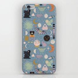 Lunar Pattern: Blue Moon iPhone Skin