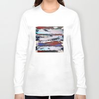 cityscape Long Sleeve T-shirts featuring Cityscape  by MonsterBrown