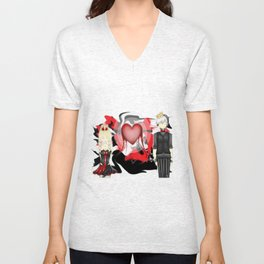 Puppets to Love Unisex V-Neck