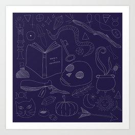 Brujeria (Witchcraft) Art Print