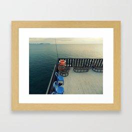 noneedtoleave #1 Framed Art Print