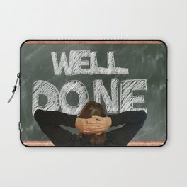 Well Done (talkers) Laptop Sleeve