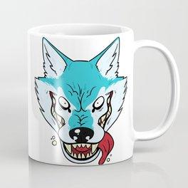 Who's Afraid of the Big Blue Wolf Coffee Mug
