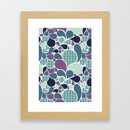 Sea pattern Framed Art Print