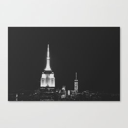 city night life Canvas Print