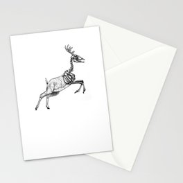 Don't be Afraid of Death Stationery Cards