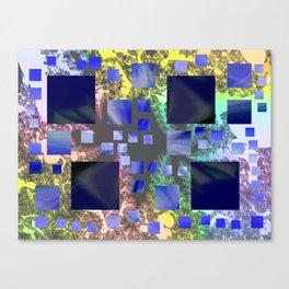 quadra Canvas Print