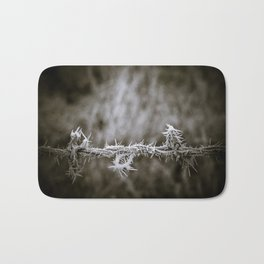 Ice on the Wire Bath Mat