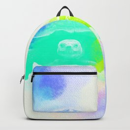 Watercolor Sulcata Tortoise Backpack