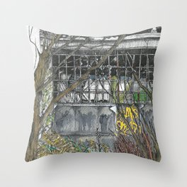 Nature will conquer I Throw Pillow
