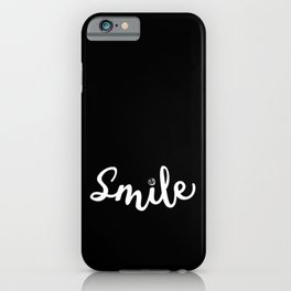 Smile | Share the Joy iPhone Case