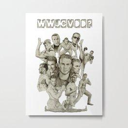 WWJCVDD? Metal Print