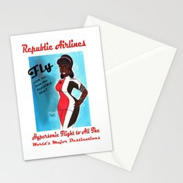 Miriyum of Republic Airlines Stationery Cards